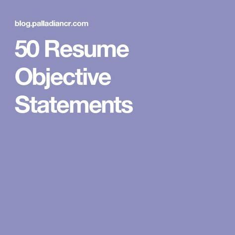 Objective Statement for a Secretary Resume LoveToKnow